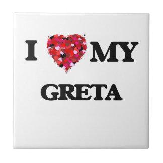 I love my Greta Small Square Tile