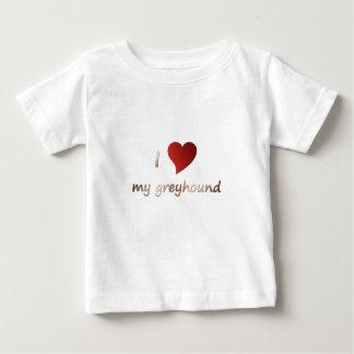 I love my greyhound infant t-shirt