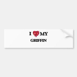 I love my Griffin Bumper Sticker