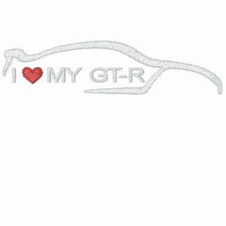 I Love My GT-R Embroidered Jacket