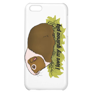 I Love My Guinea Pig Case For iPhone 5C