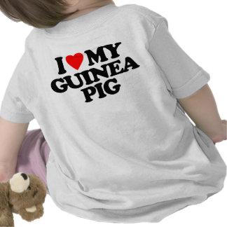 I LOVE MY GUINEA PIG T SHIRTS