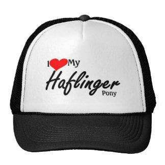 I love my Haflinger Pony Hats