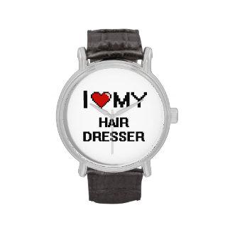 I love my Hair Dresser Wrist Watch
