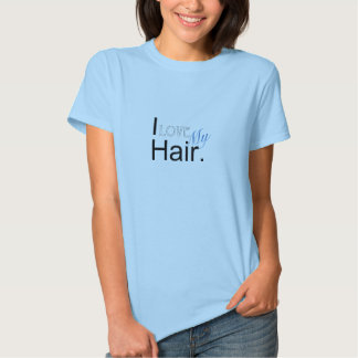 I Love my Hair - fitted women's shirt