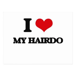 I Love My Hairdo Postcards