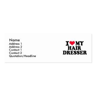 I love my Hairdresser Business Card