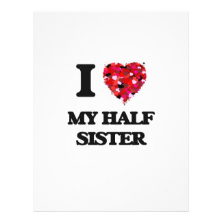I Love My Half Sister 21.5 Cm X 28 Cm Flyer