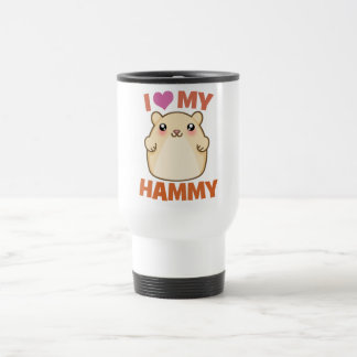 I Love My Hammy Travel Mug