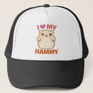 I Love My Hammy Trucker Hat