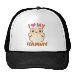 I Love My Hammy Trucker Hat