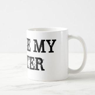 I LOVE MY HATER COFFEE MUG