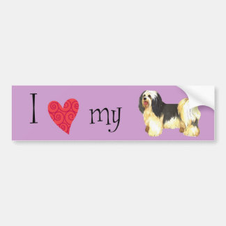 I Love my Havanese Bumper Sticker