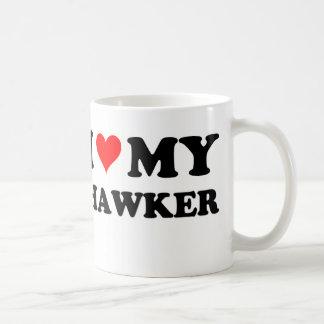 I Love My Hawker Coffee Mugs