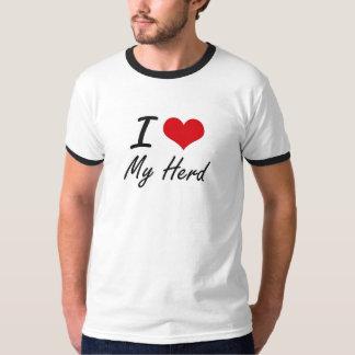 I Love My Herd Tshirts