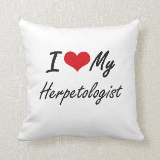I love my Herpetologist Cushion