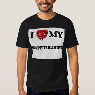 I love my Herpetologist T-shirts