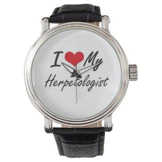 I love my Herpetologist Wristwatch