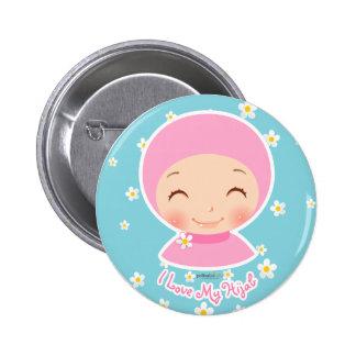 I Love My Hijab Pin