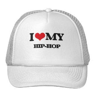 I Love My HIP-HOP Trucker Hat