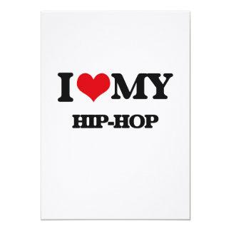 I Love My HIP-HOP Announcement Cards