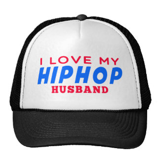 I Love My Hiphop Wife Mesh Hat