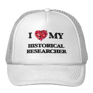 I love my Historical Researcher Trucker Hat