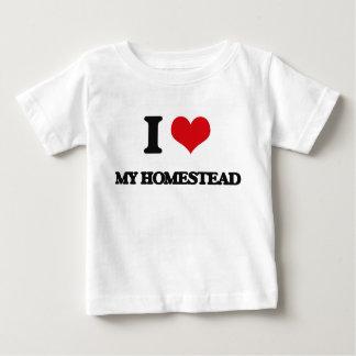 I Love My Homestead Tshirt