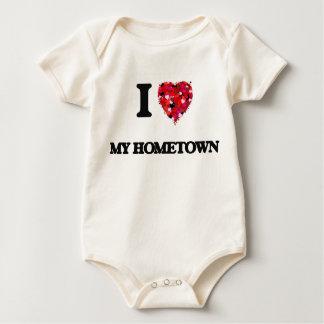 I Love My Hometown Baby Bodysuit