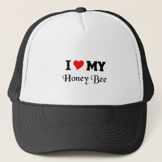 I love my Honey Bee Trucker Hat