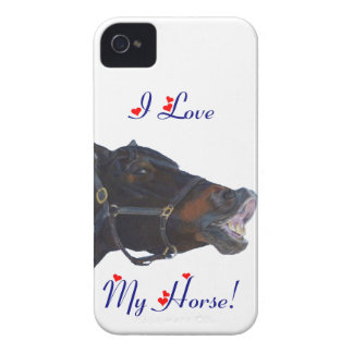 I Love My Horse Blackberry Bold Case