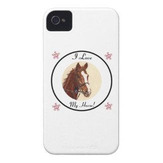 I Love My Horse! Blackberry Case-Mate Case