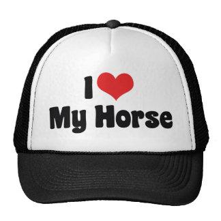 I Love My Horse Cap