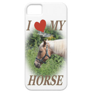 I love my horse iPhone 5 cover
