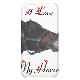 I Love My Horse! Funny for the 4 iPhone 5C Covers