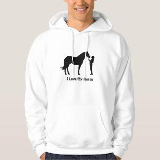 I Love My Horse Hoodie