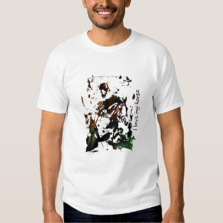 I love my horse tee shirts