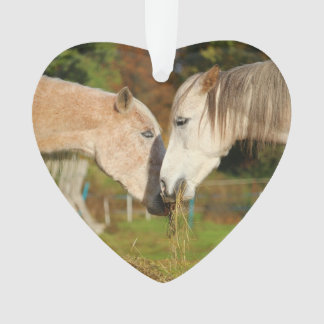 """I Love My Horses"" Christmas Ornament"