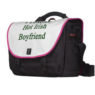 I Love My Hot Irish Boyfriend Laptop Computer Bag