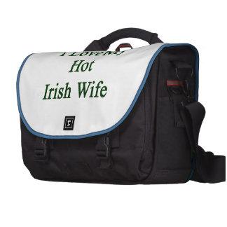 I Love My Hot Irish Wife Bag For Laptop
