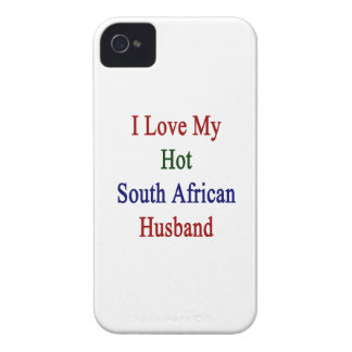 I Love My Hot South African Husband iPhone 4 Case-Mate Case