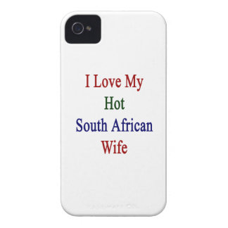 I Love My Hot South African Wife iPhone 4 Case