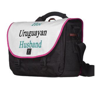 I Love My Hot Uruguayan Husband Commuter Bag
