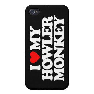 I LOVE MY HOWLER MONKEY iPhone 4 CASES