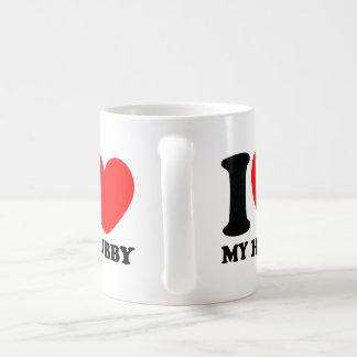 I Love My Hubby Coffee Mug