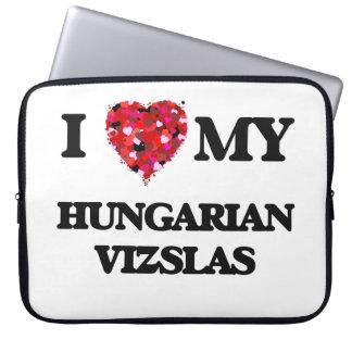I love my Hungarian Vizslas Laptop Computer Sleeve