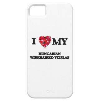 I love my Hungarian Wirehaired Vizsla Barely There iPhone 5 Case