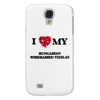 I love my Hungarian Wirehaired Vizslas Galaxy S4 Case