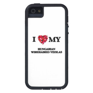 I love my Hungarian Wirehaired Vizslas iPhone 5 Cases