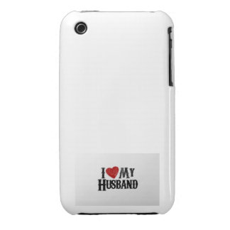 I love my Husband -Phone cover iPhone 3 Case